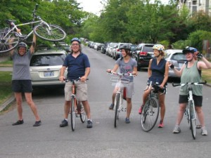 Central Seattle Greenways volunteers scout best route options for a greenway parallel to 23rd